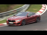 2019 BMW 8 Series Coupe M850i - Exhaust SOUNDS On The Nurburgring