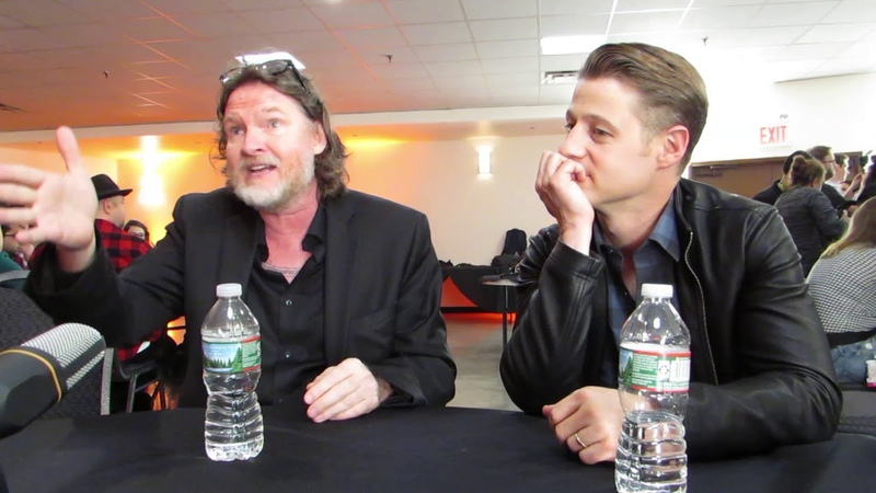 NYCC 2017 Gotham GCPD's finest Donal Logue and Ben McKenzie