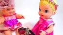 Мультик с куклами игрушками Надевают Мамины Украшения. Кукла барби. играем в куклы