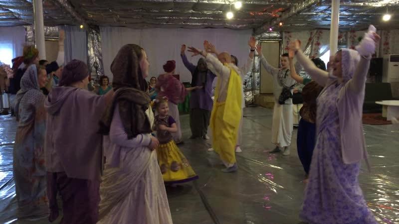 Панча Таттва Шри Чайтанья танцует 3