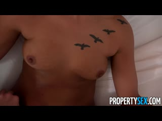 [property sex] jaye summers -attractive agent convinces homeowner to sell apartment