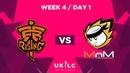 Fnatic Rising vs. MnM Gaming   UK League Championship   Week 3 Tower Re-Match   Spring Split 2019