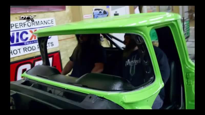 Заведённый 2 эп Chevy C10 премьера на Sema Show