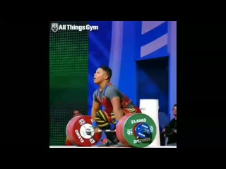 Top clean and jerk