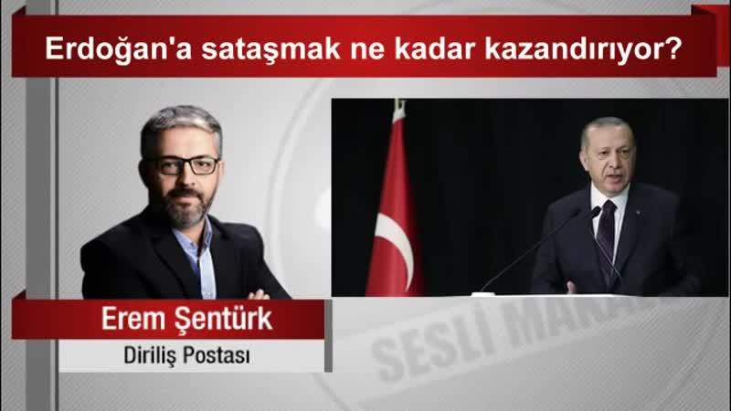 Erem Şentürk Erdoğan'a sataşmak ne kadar kazandırıyor