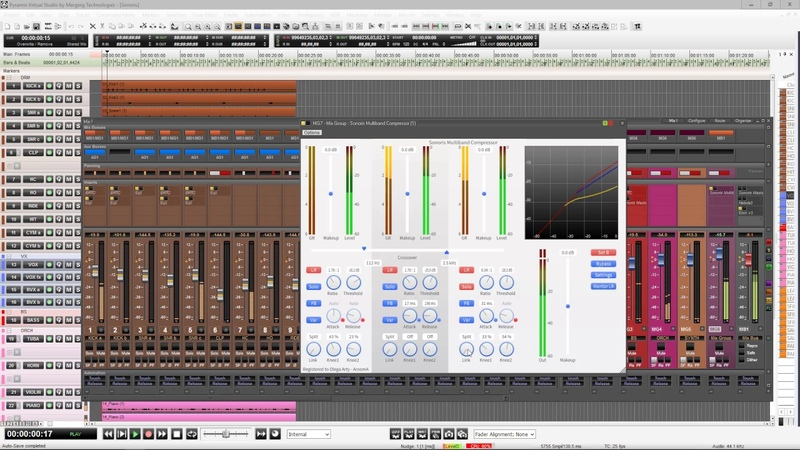 SONORIS SOFTWARE (Multiband Compressor Mastering EQ) PART 1
