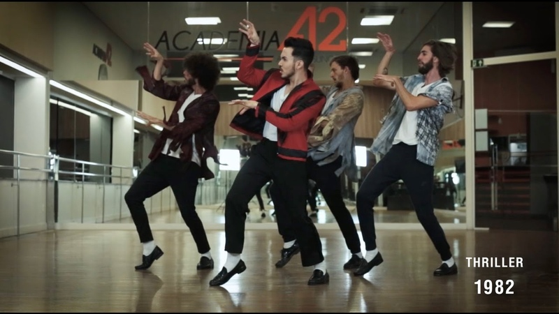 The Evolution of Michael Jacksons Dance - By Ricardo Walkers Crew