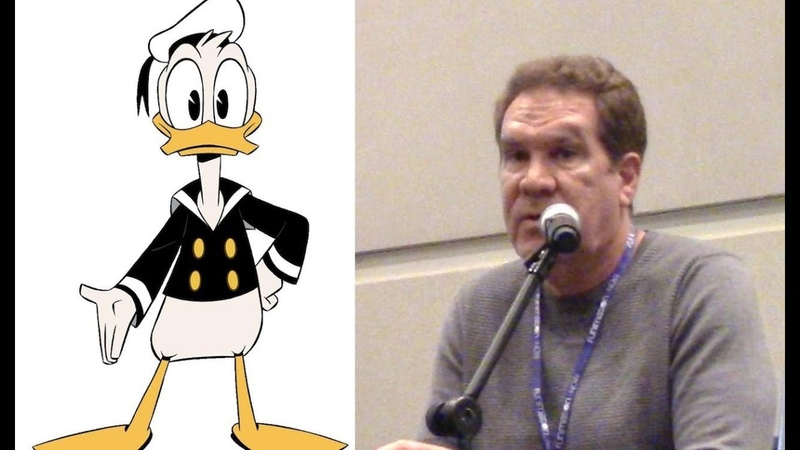 The Voice of Donald Duck Tony Anselmo's Panel at CCR 2019
