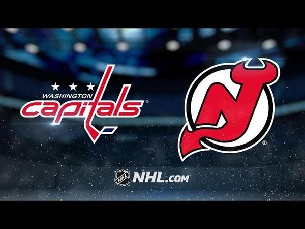 Washington Capitals vs New Jersey Devils   Mar.19, 2019   Game Highlights NHL 2018/19   Обзор матча