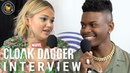 Cloak and Dagger Cast Interview with Olivia Holt, Aubrey Joseph and more