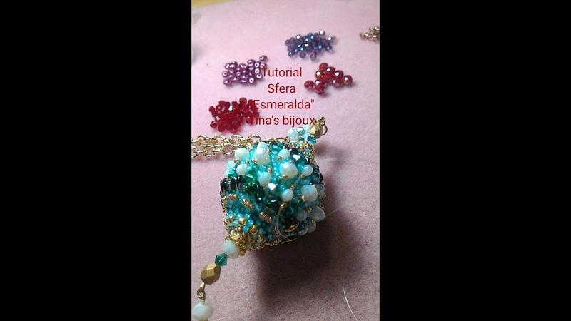 Tutorial Sfera Violetta Tinas bijoux handmade.