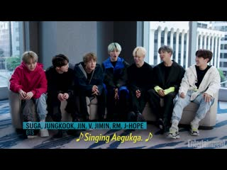 190328 An exclusive look inside the world of BTS @ Entertainment Weekly