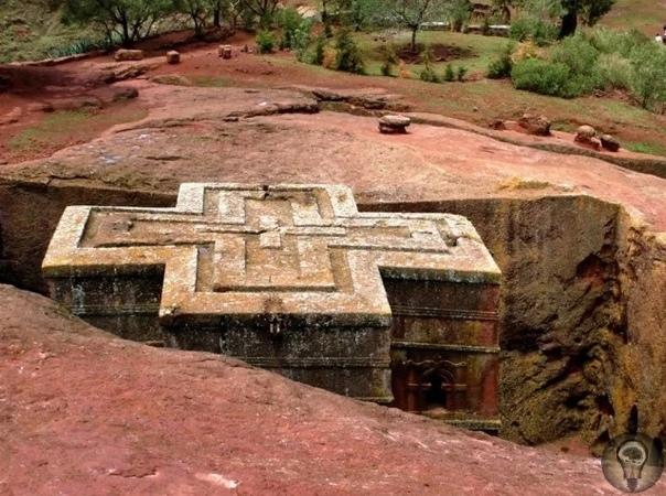 Лалибэла  загадочный храм-монолит в Эфиопии. Мифы и мнение учёных