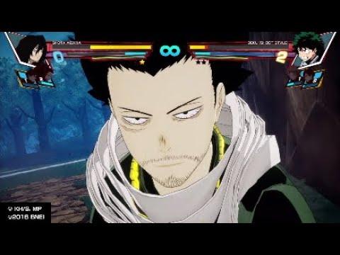 My Hero One's Justice Shota Aizawa vs Heroes Arcade Mode