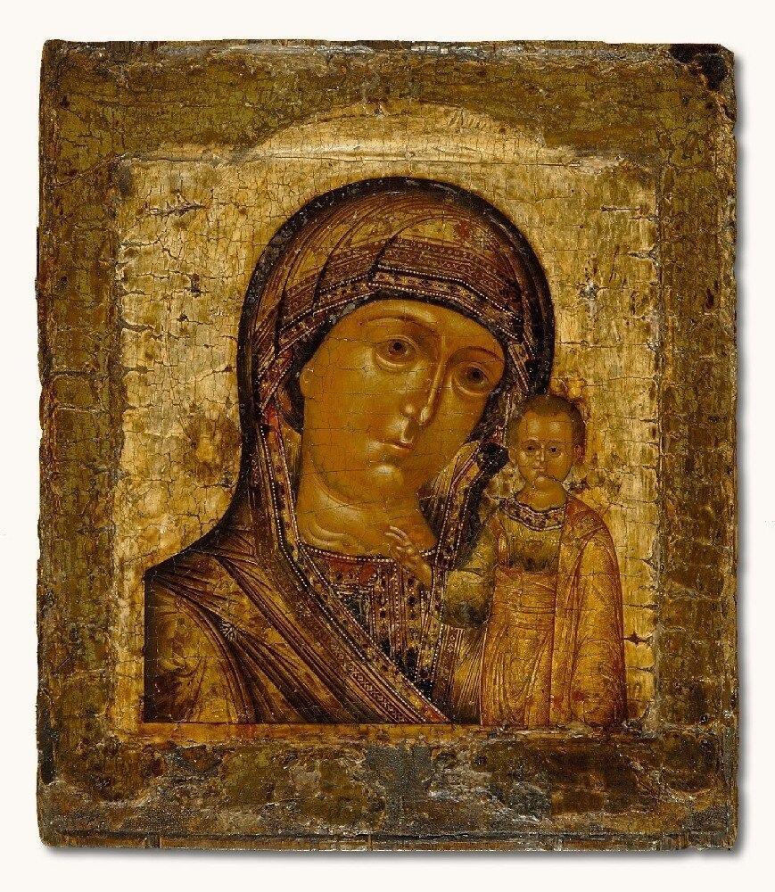 Икона Казанской Божьей Матери в Лисичанске
