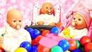 Peppa Wutz spielt mit ihrer Baby Born Puppe. 3 Videos für Kinder