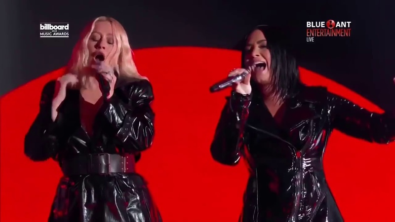 Christina Aguilera 'Fall In Line' Live at the Billboard Music Awards 2018