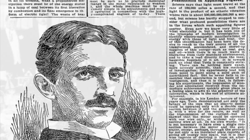 Nikola Tesla Das vergessene Genie