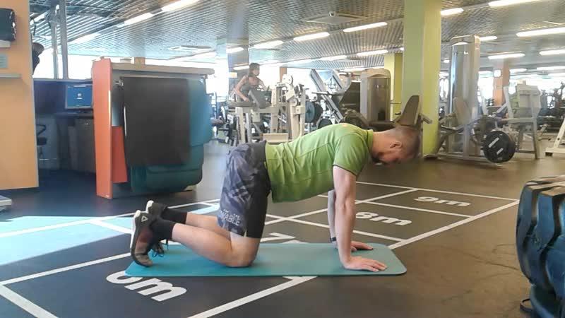 Тест на мышцы кора и сопротивление ротации