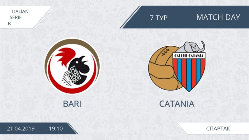 AFL19. Italy. Serie B. Day 7. Bari - Catania