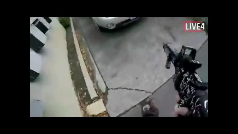 OFFIZIELLER LIVESTREAM der AMOK-Schießattacke am 15. März 2019 in Neuseeland [ORIGINAL AUFNAHME von der STIRNKAMERA]