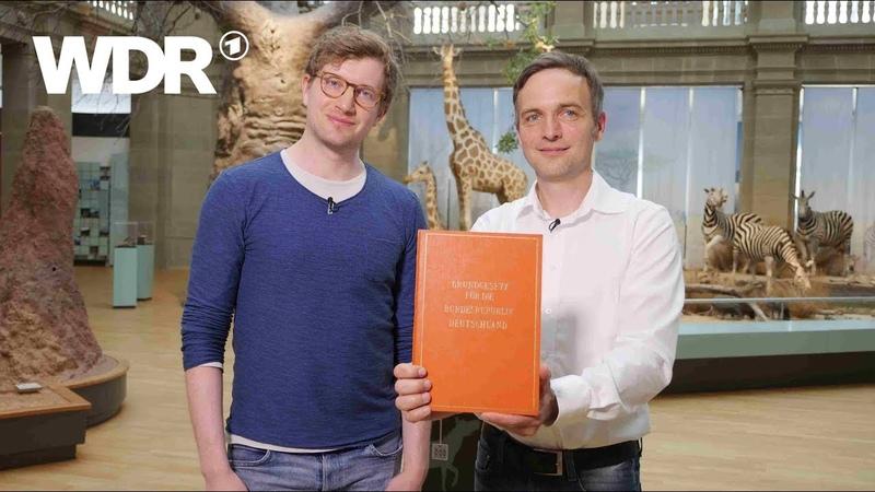 Neuneinhalb – Deine Reporter: 70 Jahre Grundgesetz | WDR