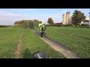 Injured FMX rider Bruce Cook back on his bike