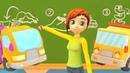 Мультик про машинки Маша Капуки Кануки Машинки в школе