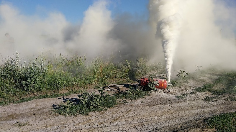 Как стравить огнетушитель ОП 50 ржака