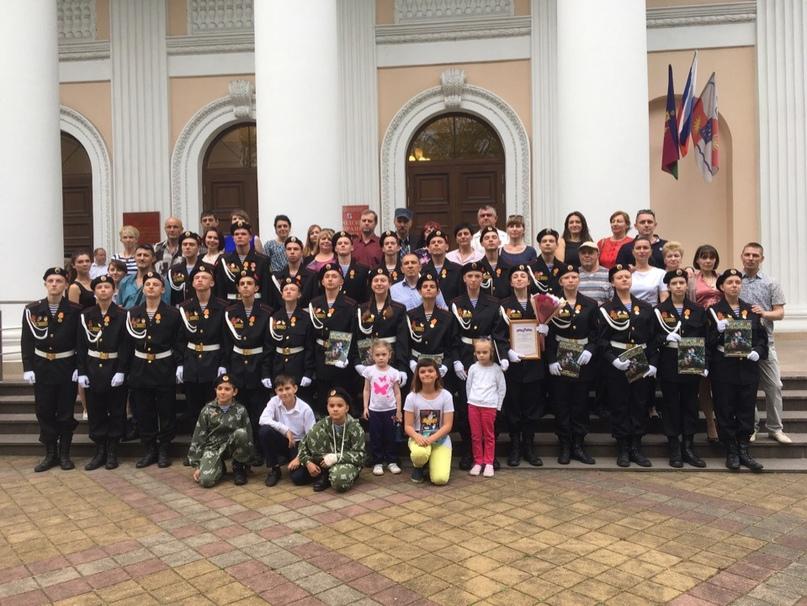 Воспитанники клуба «Морской пехотинец» награждены за участие в военном параде победы