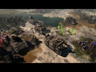 WARHAMMER 40K Gladius Relics of War - Intro Trailer & Gameplay - ORCS & ASTRA MILITARUM Faction