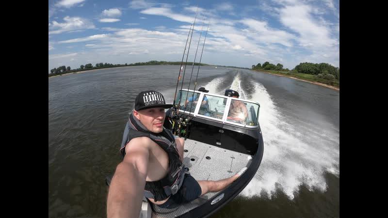 Рыбалка на реке ОКА 22 Июня 2019 Голодные Пираньи