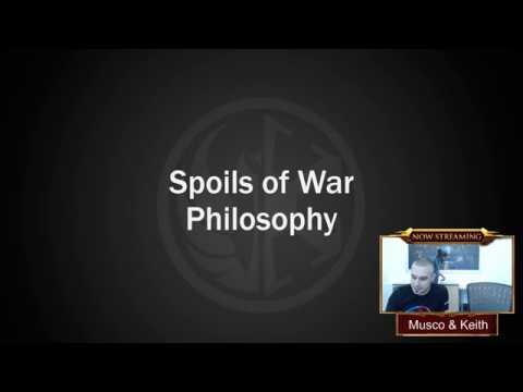 The Spoils Of War Livestream Recording