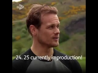 Another part of this great @stv (twitter) interview with sam heughan