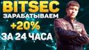 Заработаем 20% за одни сутки!! Обзор проекта депнул 800 руб
