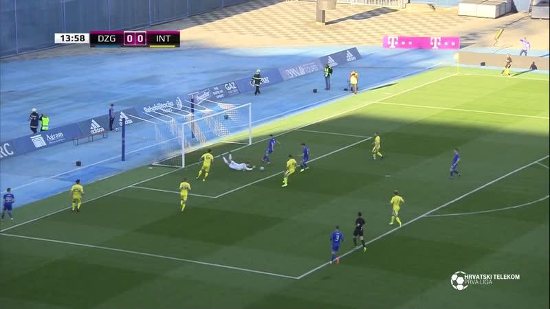 Dinamo - Inter-Zapresic 1-0, Sazetak (1. HNL 2018/19, 26. kolo), 30.03.2019. Full HD