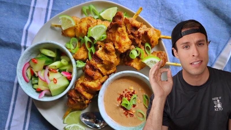 Keto chicken satay recipe *full flavor*