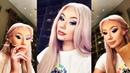 Iggy Azalea Live Stream On Instagram/Makeup with James Charles palette