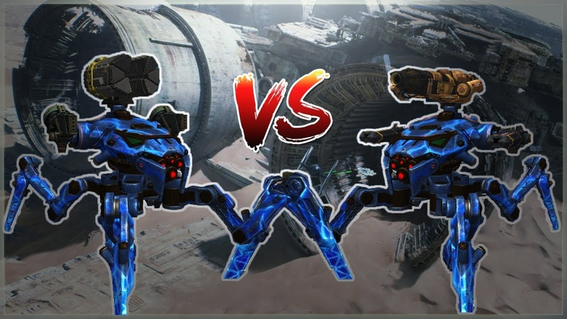 WR 🔥 Ember Halo VS Exodus Gust RAYKER Detailed Comparison War Robots