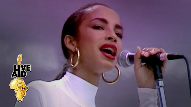 Sade - Your Love Is King (Live Aid 1985)