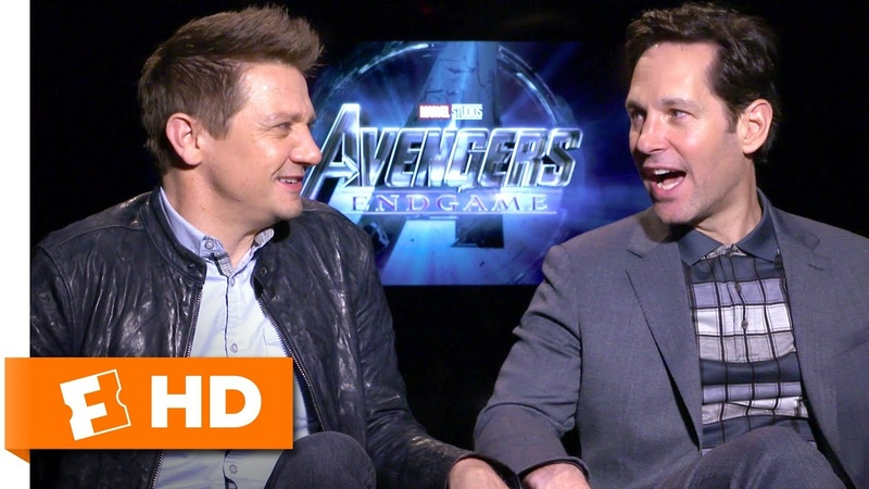 Paul Rudd Jeremy Renner Consider Swapping Superhero Roles | Avengers Endgame Cast Interview
