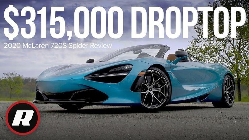 2020 McLaren 720S Spider Review One divine droptop supercar