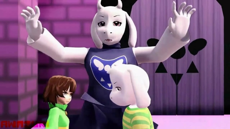 MMD Undertale part3 (10k subs thanks)