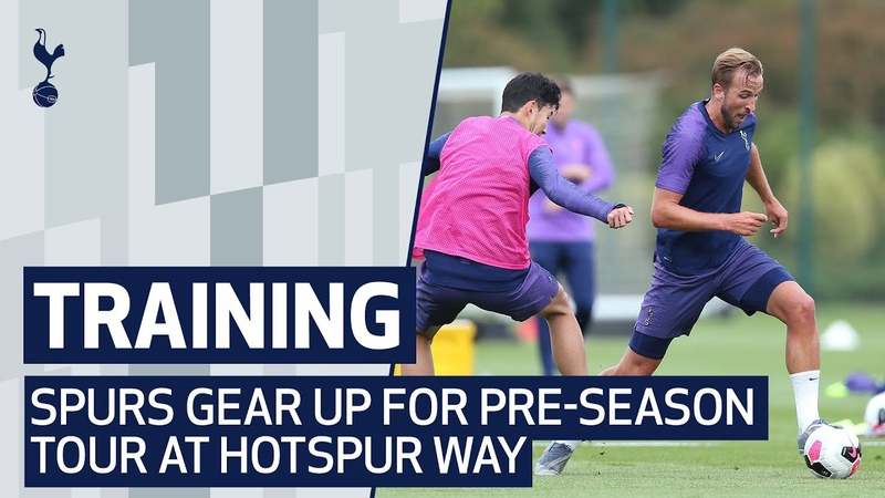 TRAINING | Spurs gear up for pre-season tour at Hotspur Way