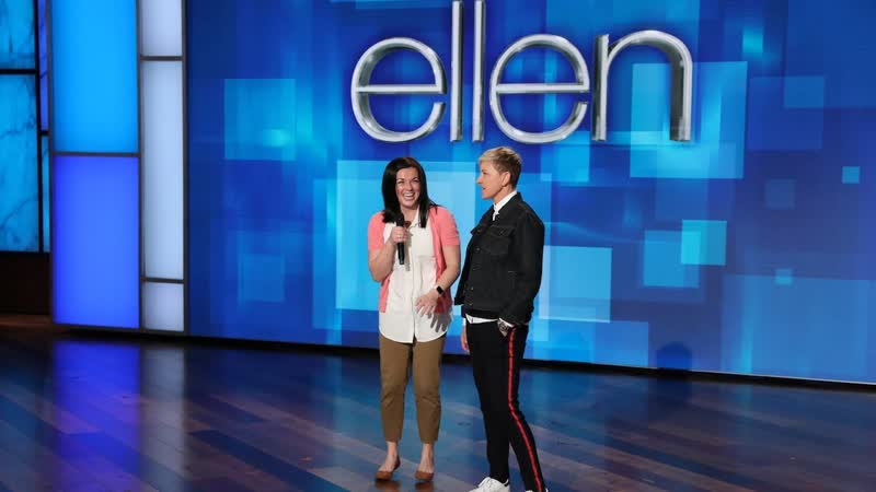 Ellen Proves the Viral Me on Ellen Meme Is Exaggerated