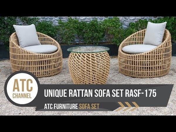 Wicker Cafe Set Space saving Furniture RASF 175 ATC Furniture 2019