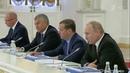 Владимир Путин провел заседание Госсовета посвященное развитию дорожной сети вРоссии Новости Первый канал