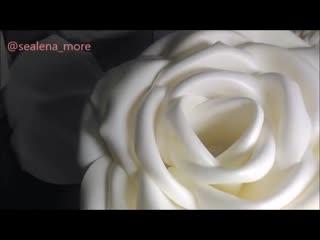 Роза-торшер из ikea   бесплатный мк
