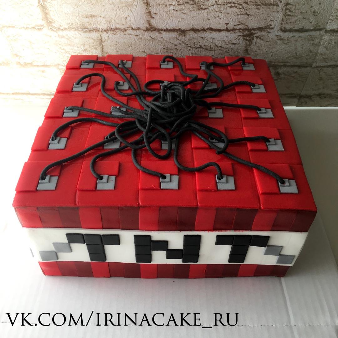 """Торт """"Майнкрафт"""" (Арт.  408)"""