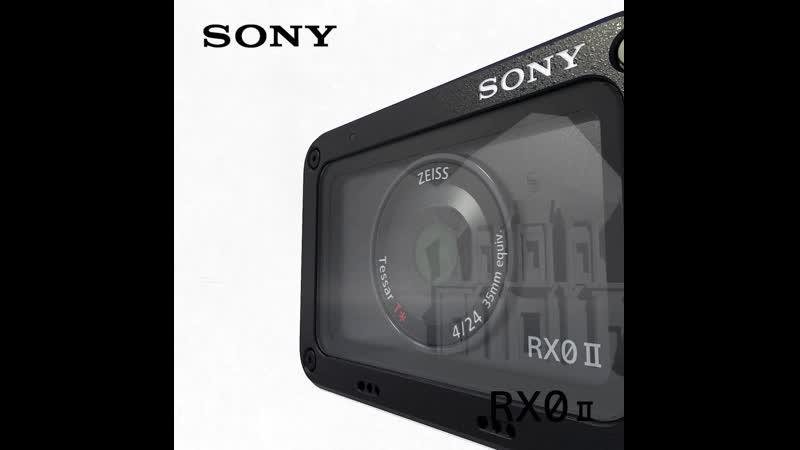 Новая камера RX0 II